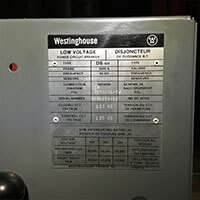 Westinghouse Unit Information